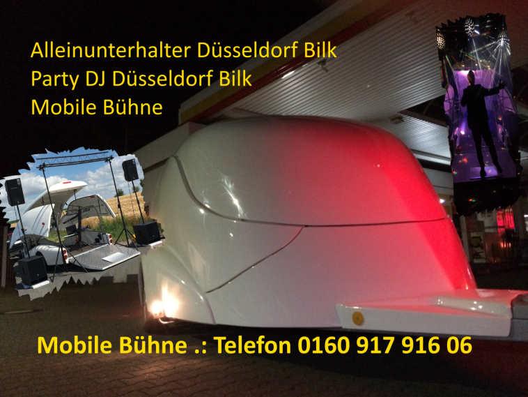 Alleinunterhalter Düsseldorf Bild - DJ Düsseldorf Bilk Mobile Bühne Show Truck