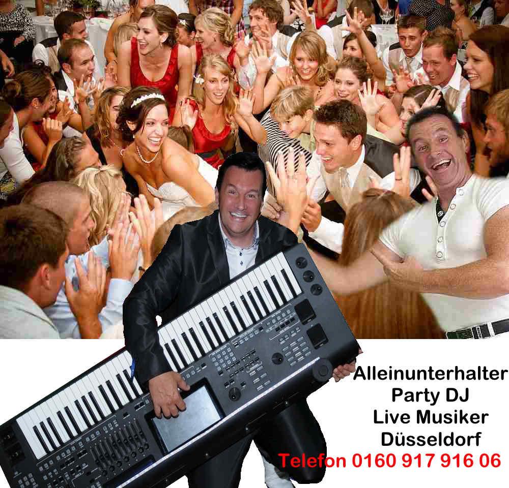 Alleinunterhalter Düsseldorf - DJ Düsseldorf mit top Anlage und super Referenzen