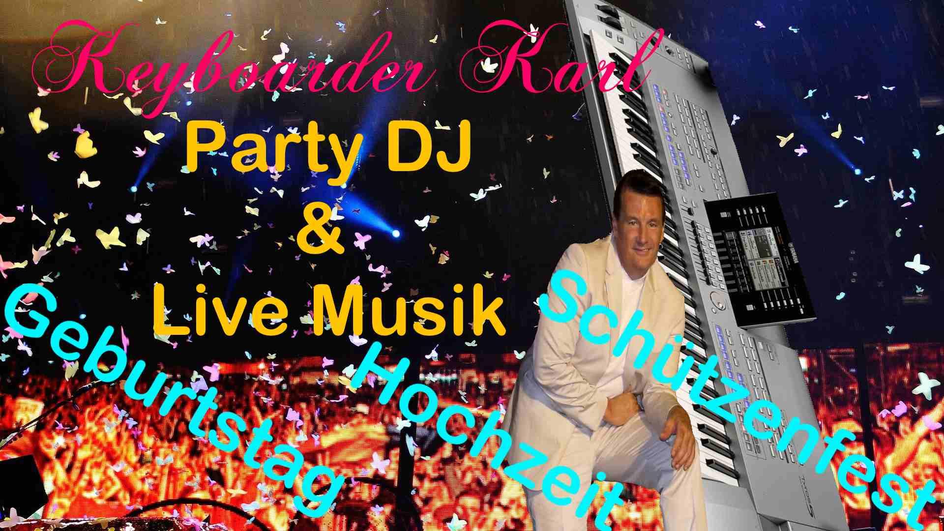 Alleinunterhalter Düsseldorf und Party DJ Düsseldorf - zum Festpreis