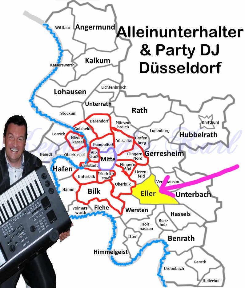 Alleinunterhalter Eller DJ Eller - Stadt Düsseldorf - Alleinunterhalter Düsseldorf Eller und DJ Düsseldorf Eller