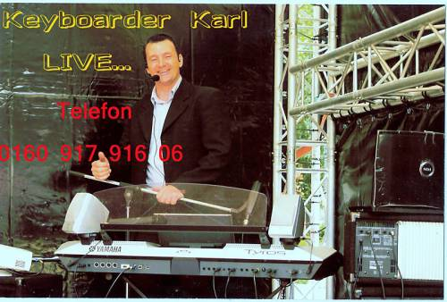 Alleinunterhalter und Party DJ Keyboarder Karl - Super Referenzen aus TV und Rundfunk
