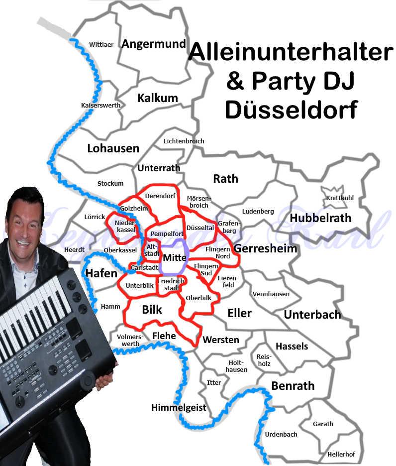 Live Musik und DJ Düsseldorf - Alleinunterhalter Düsseldorf und DJ hat Termine frei